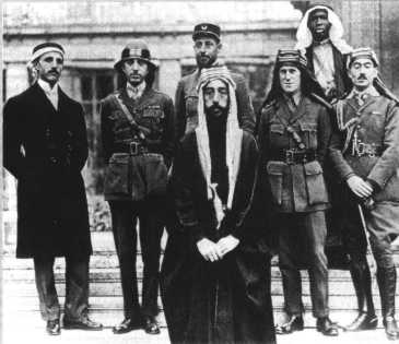 Emir Faisal at Versailles in 1919 with his British adviser Colonel TE Lawrence. Two years later Gertrude Bell(above) created for him the colonial kingdom of Iraq